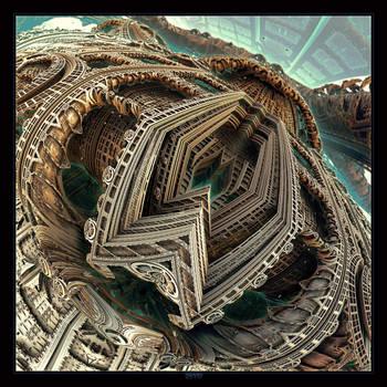 Spaceship by mehrdadart