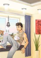 Commission Calender Boy by keigo-mak