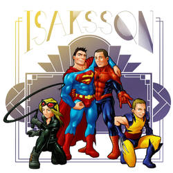 Commission - Family Isacsson by keigo-mak