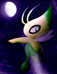 Dark Celebi by KairouZ