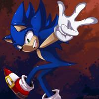 Sonic The Hedgehog by KairouZ