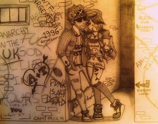 Punk Rock Style by CamiGDrocker