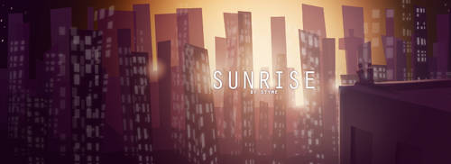 Urban Sunrise by SteamBerry