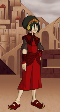 toph form the fire nation by moon shining wolf on deviantart