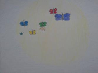 Kuroko No Basuke Butterfly by KaedexSasuke