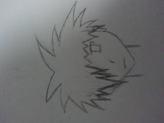 Random anime boy head by KaedexSasuke