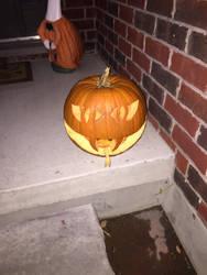 hissing pumpkin by Geoshark12