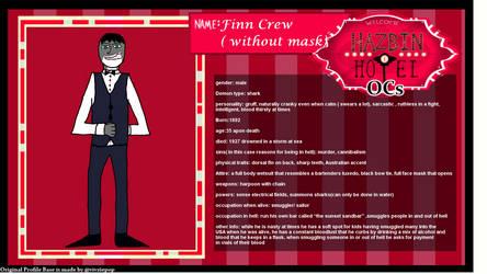 Finn Without Mask by Geoshark12