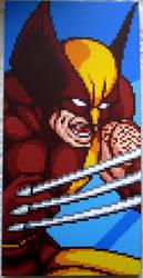 Wolverine Pixel Painting by PixelArtPaintings