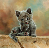 little hooligan by Animal75Artist