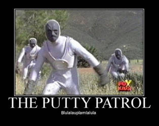 its the putty patrol!! by DaSpecialist