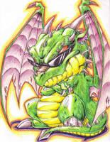 cool dragon by Dokuro