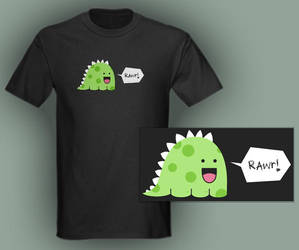 Dinos Go Rawr Tee by numb-existence