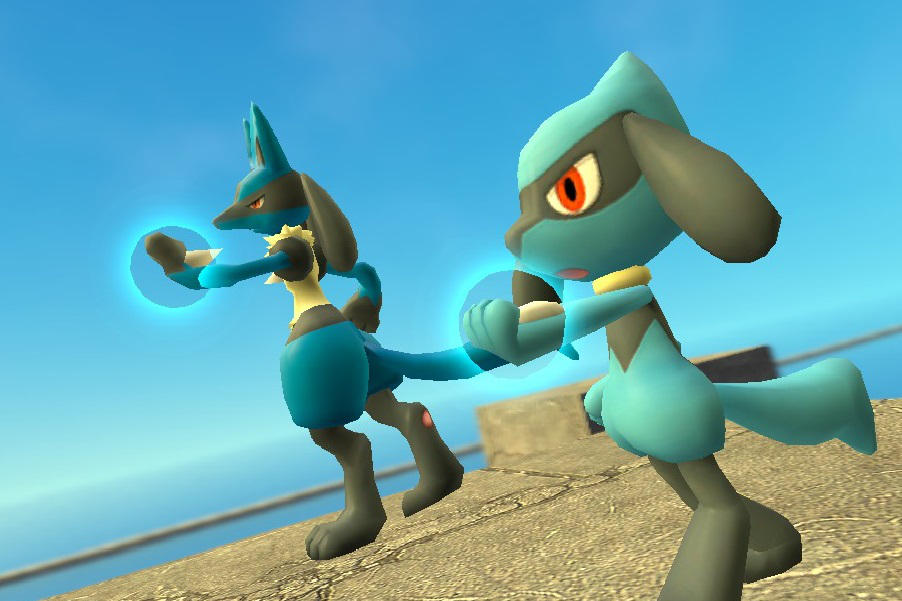 Pokemon Lucario Riolu By Droiddragon27 On Deviantart