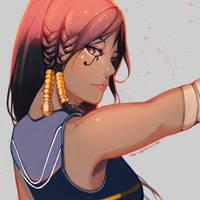 Pharah fanart by mSppice