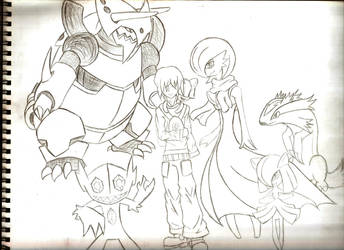 My Pokemon Team by anoneemoos