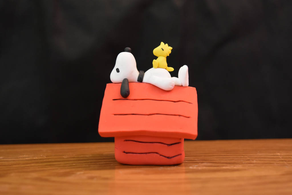 Snoopy And WoodStock - Lazy Day by kerobyx