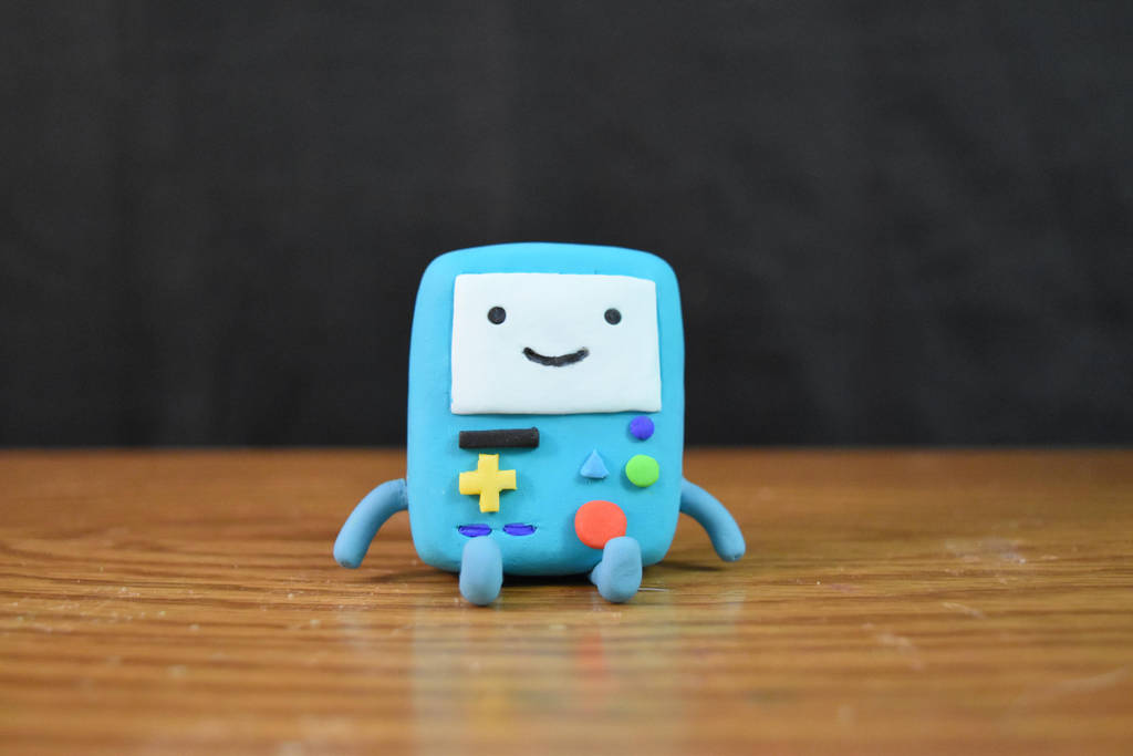 BMO - Adventure Time - Clay (tutorial) by kerobyx