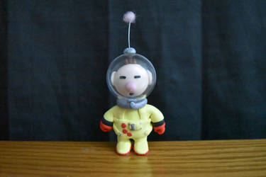 Captain Olimar - Pikmin - Clay Figure by kerobyx