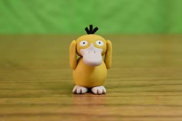 Pokemon #054 - Psyduck - Clay Figure (Tutorial) by kerobyx