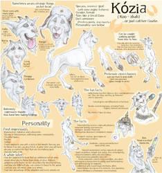 Kozia - OLD character sheet by OssaDigitorumManus