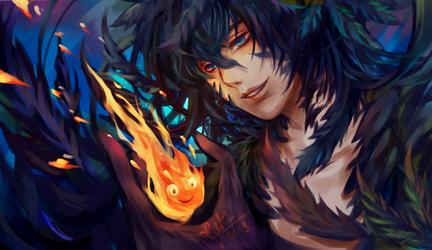 Demon Howl by Riktockhi