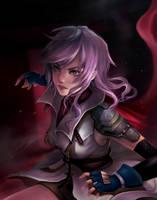Lightning FFXIII [Request] by Riktockhi