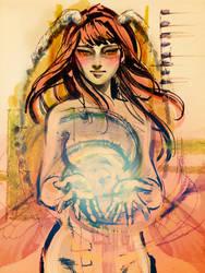 Sketchbook - Queen by xcnugget