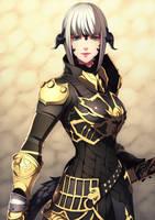 FFXIV character Commission 01 by dandandb