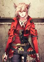 FFXIV character Commission 02 by dandandb