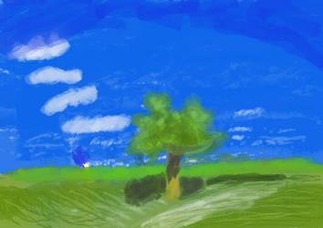 MudOil Landscape by woomoocoo