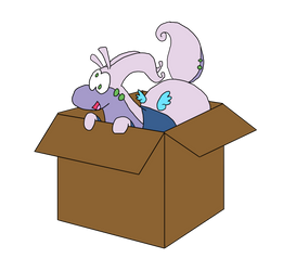 Goofield In A Box by ClawandLinLin
