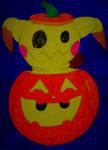 Halloween Mimikyu by Mlgpirate01