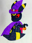 Trick or Treating Umbreon by Mlgpirate01