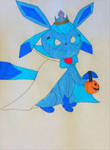 Trick-or-Treating Glaceon by Mlgpirate01
