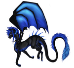 Blue Dragon by x-moondoll