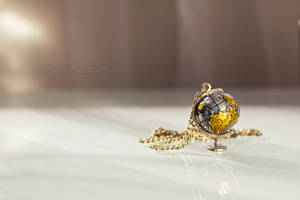 Globe Necklace by mthows1