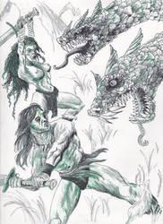 DoodleMark1 by ferretwraith