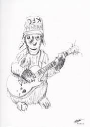 Bun Bun Buckethead2 by ferretwraith