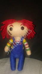 Needle-Felt Chucky  by waterseasun3