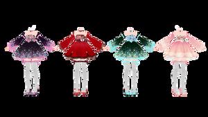 tda Elin Asian  dress pack dl by MikuPirate