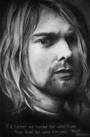 Kurt Cobain by VampInMask