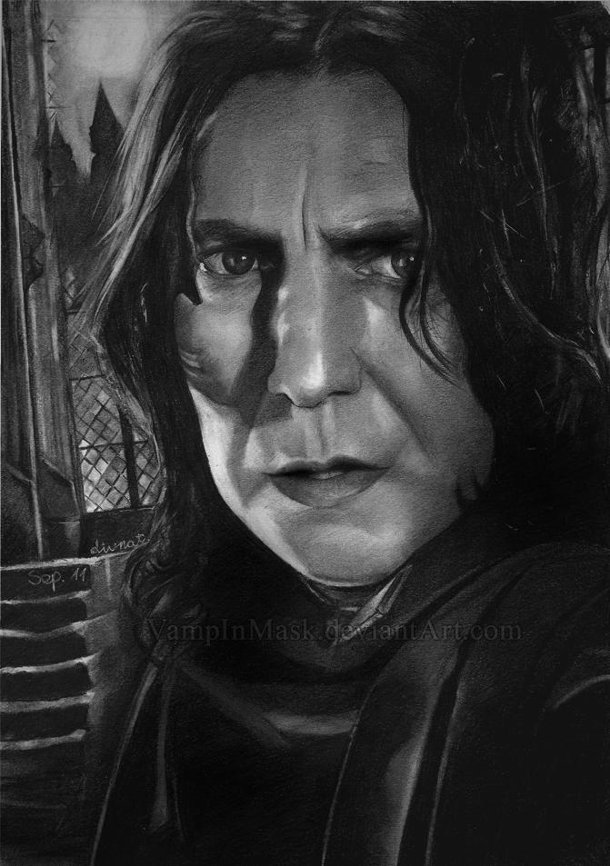 Severus Snape by VampInMask