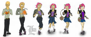 She was a Skater Girlz! by lostnumero