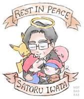 Goodnight, Iwata. by notbadrae