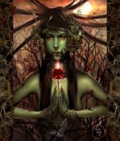 Blood lotus by Rikudeux