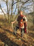 Celtic warrior: by Dragenos