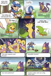 Pokemoments: EXP Leak by TigerLukke