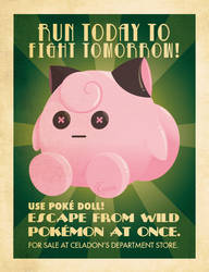 Poke Doll advertising poster. by Chuz0r