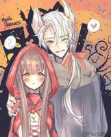 Mystic Messenger Halloween - Zen - FanART by Eirlysie